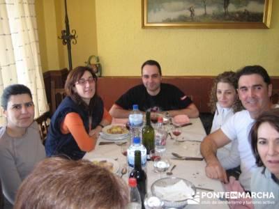 Comida en Sequeros - Sierra de Francia; mochila para senderismo; rutas de senderismo por españa; ru